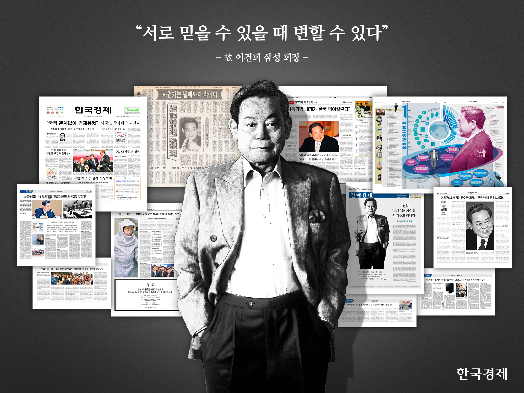 이건희의 발자취 by 한국경제